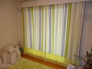 M様邸切り替えカーテン